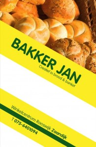 Bakker Jan Zaandijk